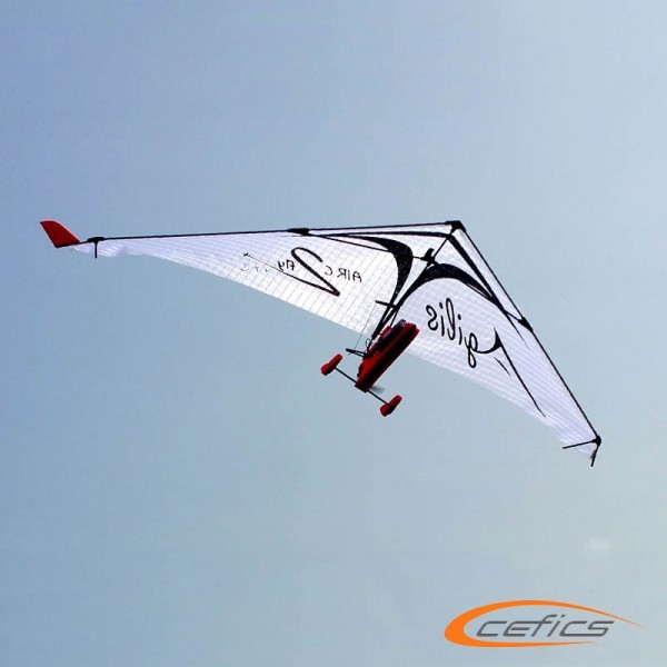 PunkAir Agilis Weiß Bundle 1: AIRC2fly Agilis inkl. Graupner Vector Unit extreme