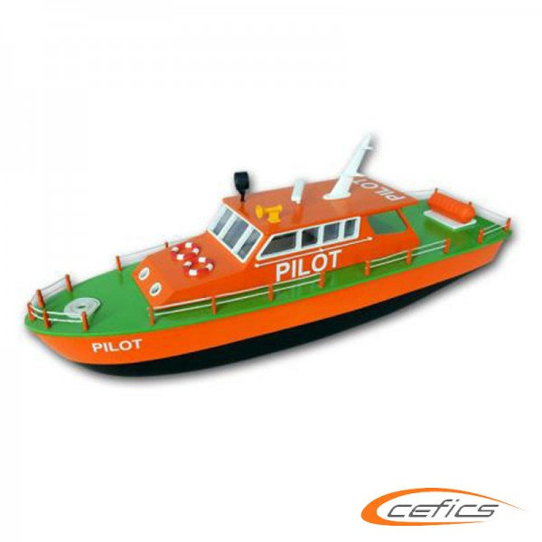 Pilot Boot ohne Antrieb Hacker Model