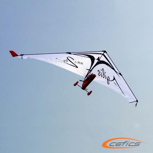 PunkAir Agilis Weiß Bundle 2: AIRC2fly Agilis inkl. Graupner Vector Unit extreme und Sender MZ4