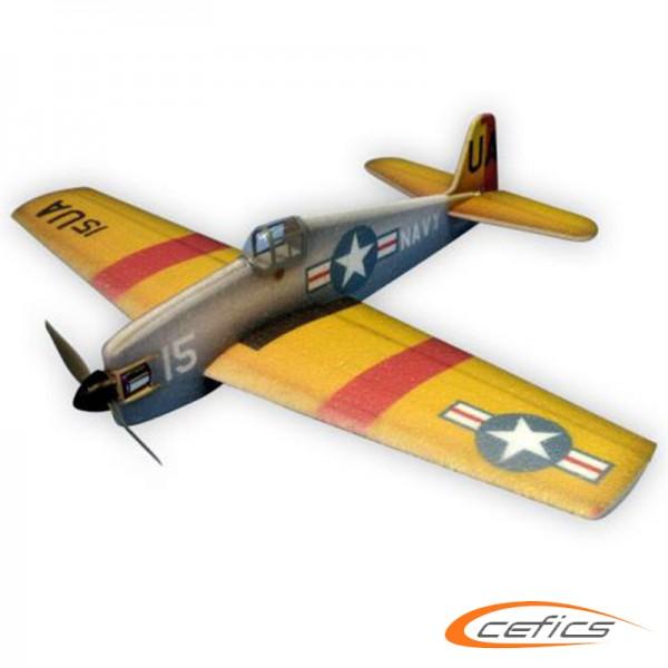 F6F-5 HellCat ARF 840 Gelb Rot