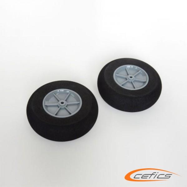 Ultraleichte Räder 90/28mm 21,8g 4,0 mm Welle 2 Stück