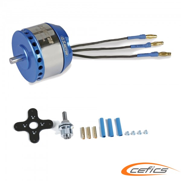 O.S. Motor OMA 5010-810 brushless Motor für Set XL