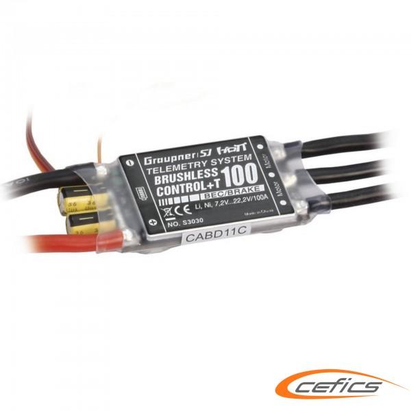 Graupner Regler BRUSHLESS CONTROL + T 100 für Set XL
