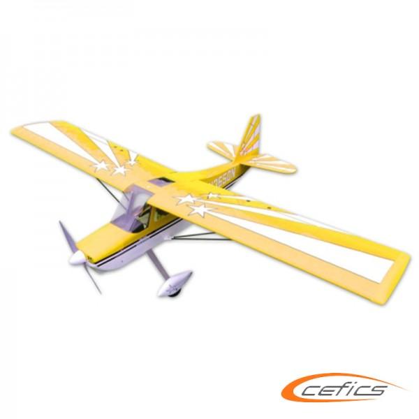 Bellanca Super Decathlon 60 elektro Version ARF Gelb
